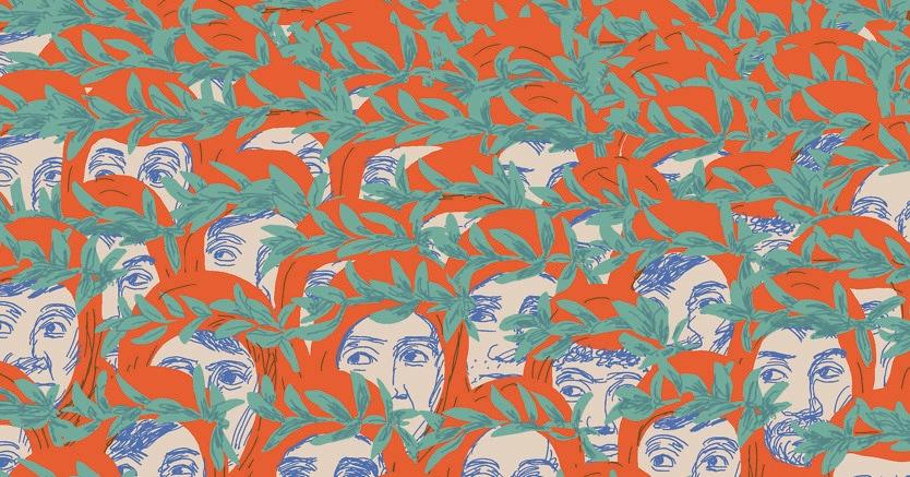 Illustrazione di Guido Scarabottolo