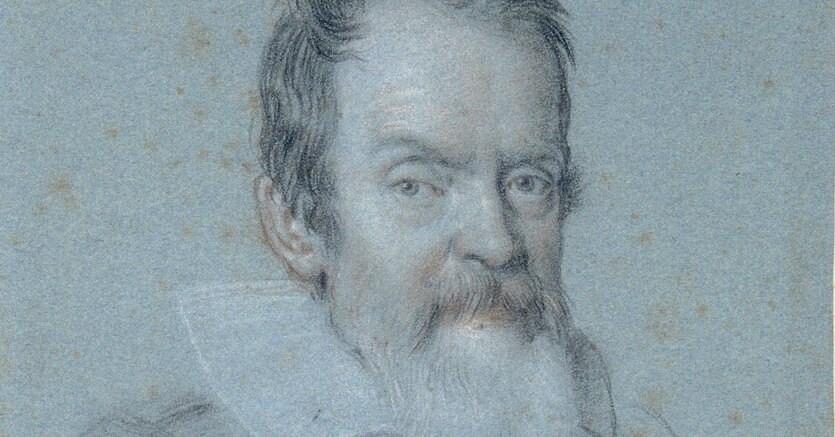 Illustre scienziato. Il ritratto di Galileo Galilei (1624) realizzato da Ottavio Leoni (1578-1630). Biblioteca Marucelliana, Firenze.