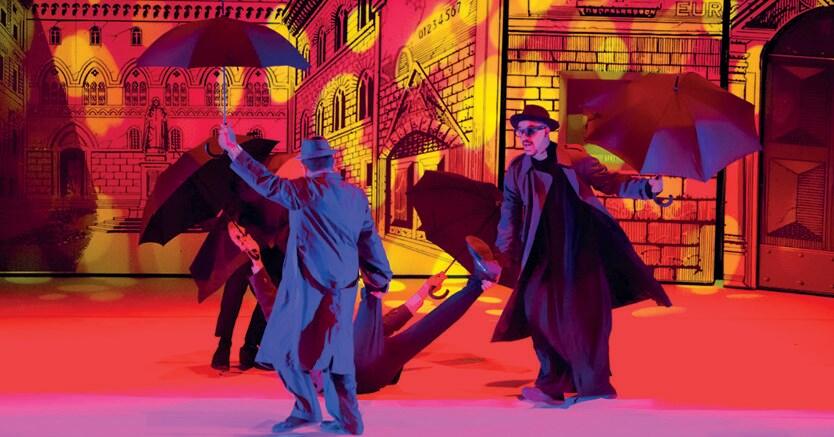 Trasfigurazione teatrale, La  «Mandragola» di  Machiavelli, diretta da Jurij Ferrini, andata in scena al Teatro Vittoria di Roma nell'aprile 2017