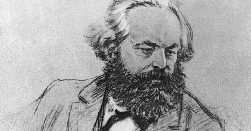 Ritratto di Marx