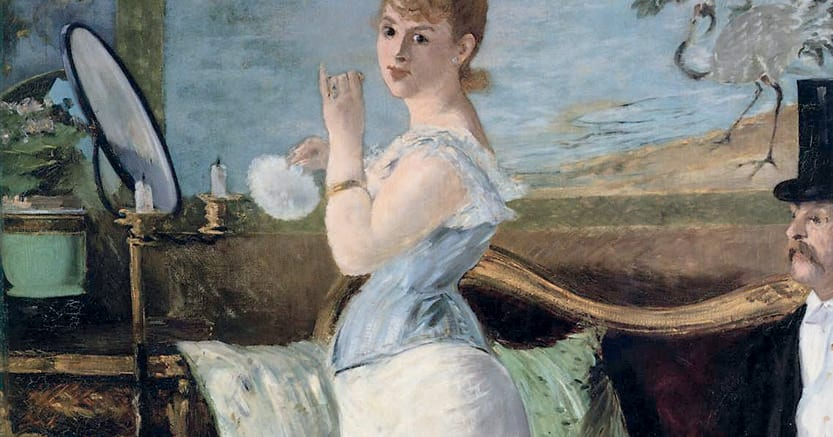 Sogno di bellezza e di armonia.  «Nana» ,di Èdouard Manet, 1877, Hamburger Kunsthalle, Amburgo.