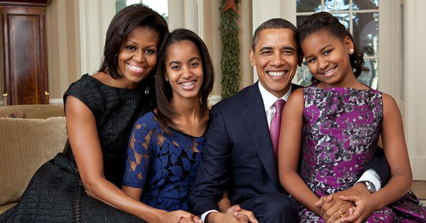 La famiglia Obama (foto ufficiale di  Pete Souza)