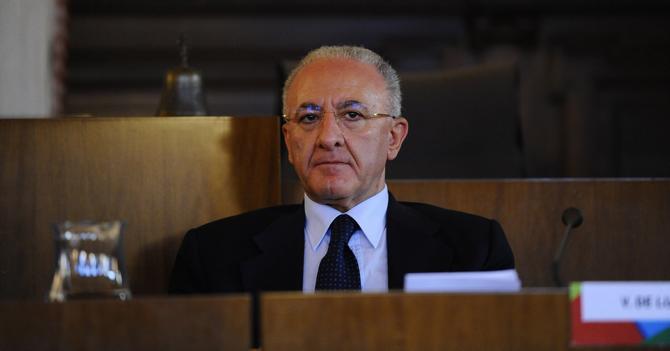 Il sindaco di Salerno Vincenzo De Luca(Ansa)