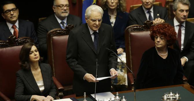Messaggio del presidente della repubblica sergio for Vice presidente della camera dei deputati