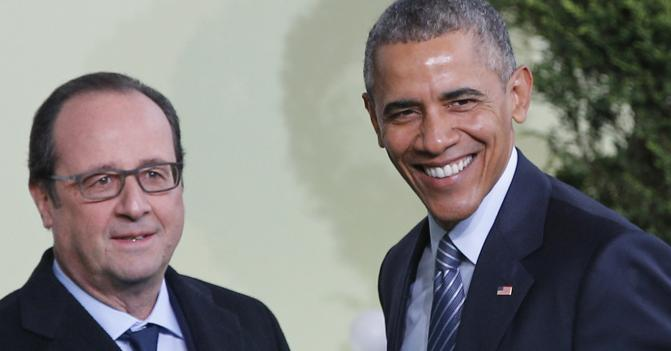 Francois Hollande e Barack Obama (Afp)