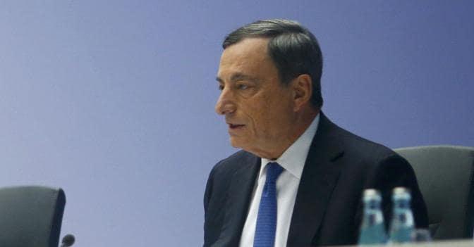Il presidente Bce Mario Draghi (Reuters)