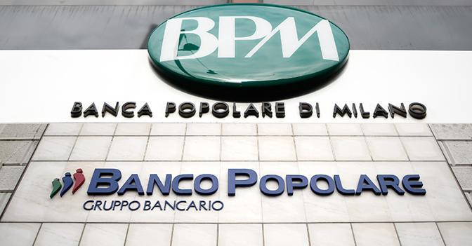 Bpm-Banco, nuova lettera della Bce per la fusione. Titoli in forte flessione