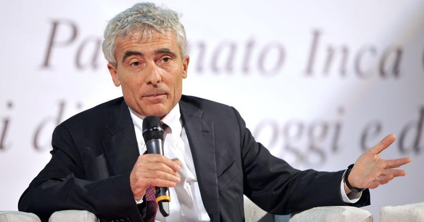 Il presidente dell'Inps, Tito Boeri (Fotogramma)