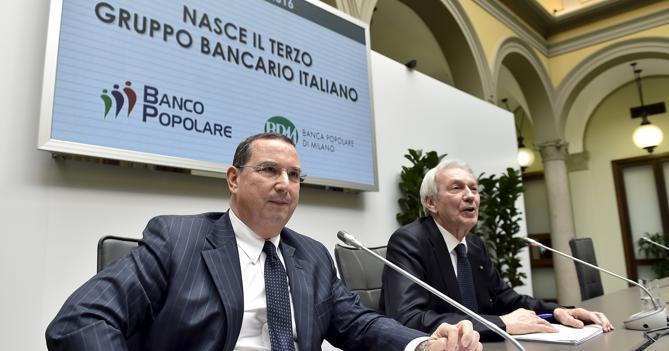 Giuseppe Castagna e Pier Francesco Saviotti (Reuters)