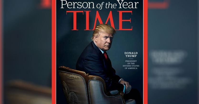 Persona dell'anno: per il Time è Donald Trump