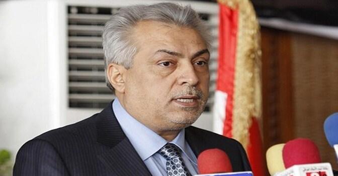 Il ministro del Petrolio iracheno Abdul Kareem Luabi