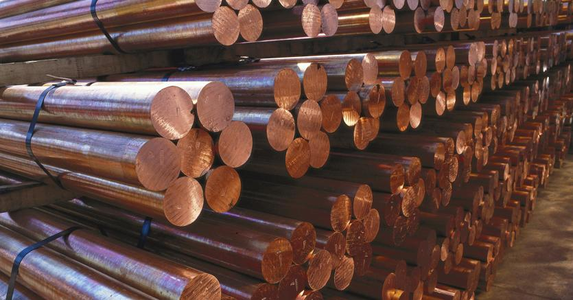 Effetto dollaro sui metalli rame ai minimi da un mese e for Prezzo alluminio usato al kg 2016