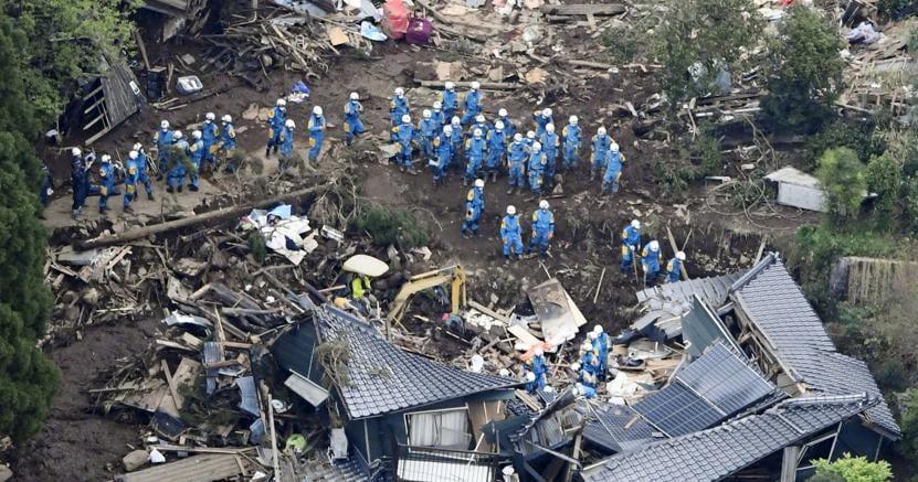 Terremoto in giappone sale il numero dei morti oltre for Numero dei parlamentari in italia