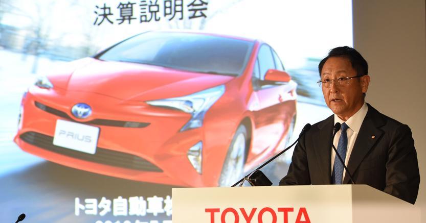 Akio Toyoda (Afp)