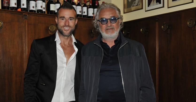 Philipp Plein con Flavio Briatore