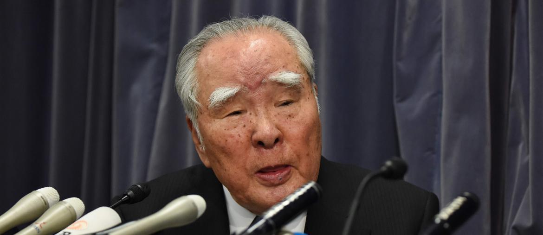 Osamu Suzuki Ceo di Suzuki (Reuters)