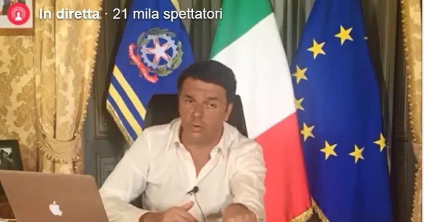 Le promesse di Renzi, addio a Equitalia entro il 2018