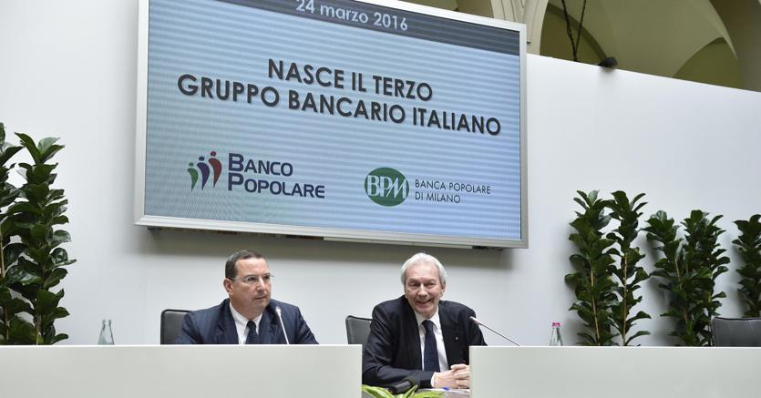 BPM-Banco Popolare: via libera alla fusione, nasce Banco BPM