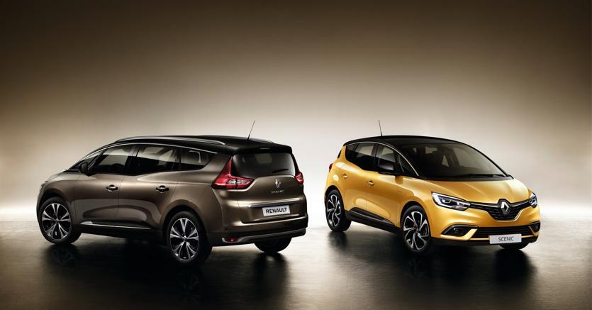 Renault Grand Scenic, disponibile anche ibrida diesel