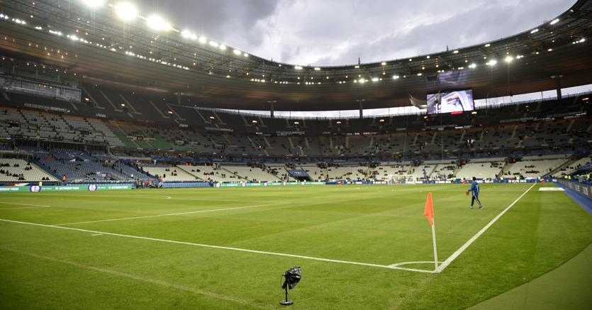 Parigi , stadio Saint-Denis - Afp