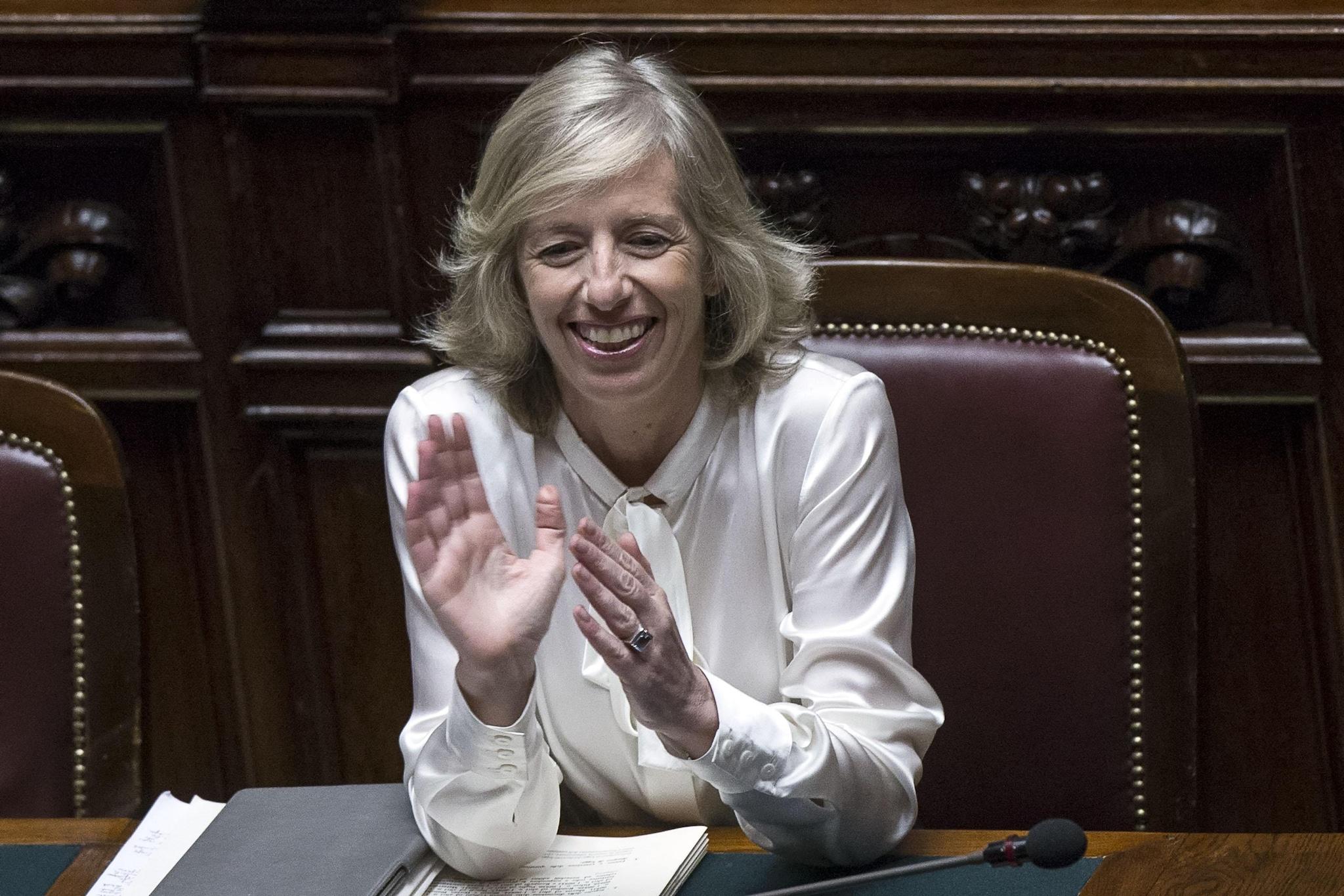 La ministra dell'Istruzione Stefania Giannini