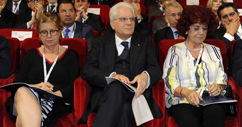 Il capo dello Stato Sergio Mattarella ha assistito in platea all'assemblea annuale di Confindustria
