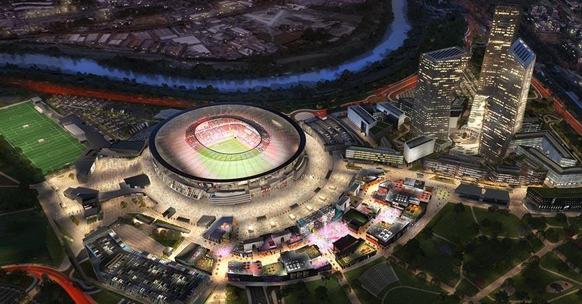 Il progetto dello Stadio della Roma