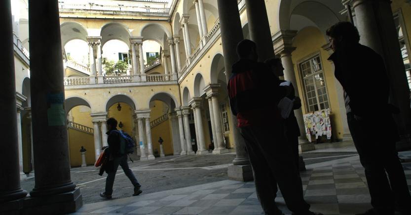 L'Università di Genova (Fotogramma)