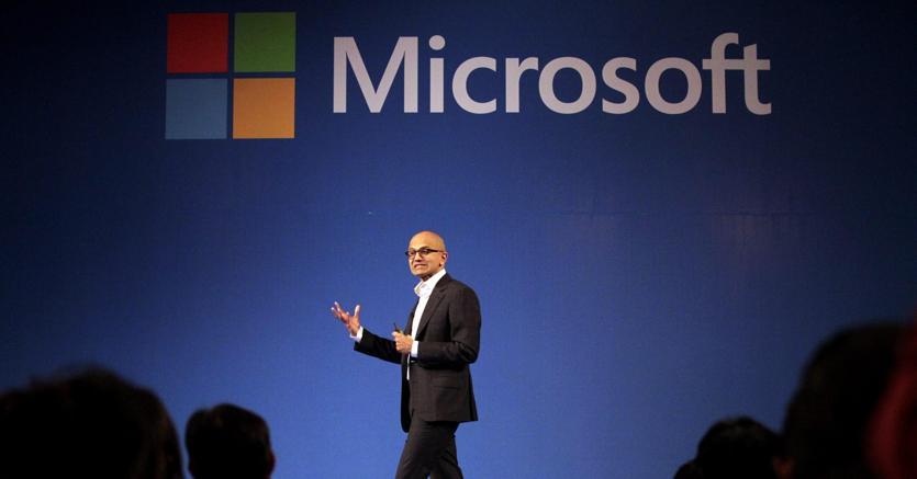 Il Ceo di Microsoft,  Satya Nadella