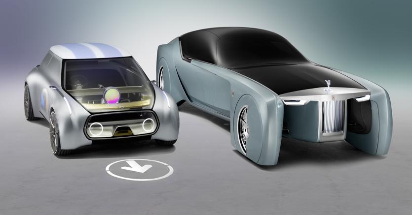 le auto del futuro secondo mini e rolls royce il sole 24 ore. Black Bedroom Furniture Sets. Home Design Ideas