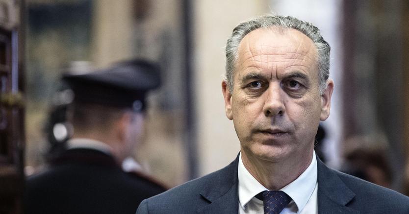 Il vicepresidente del CSM Giovanni Legnini  (Ansa)