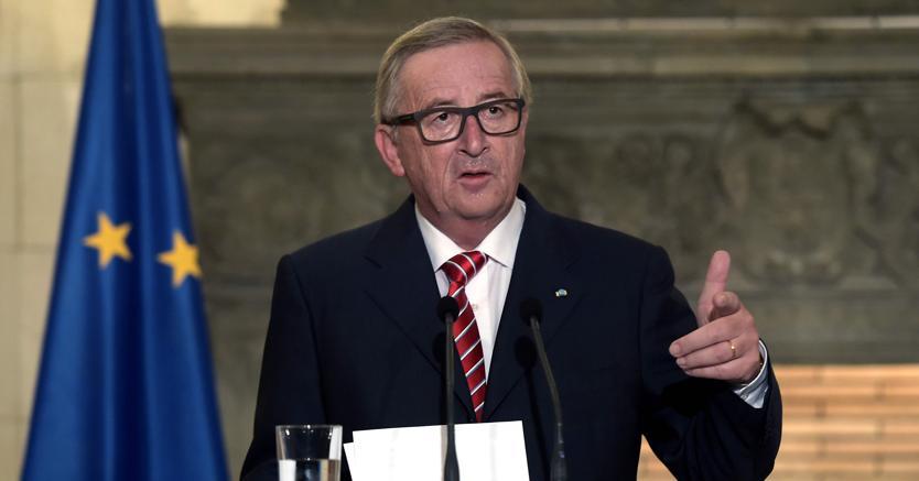 Jean-Claude Juncker, presidente della Commissione  Europea  (Afp)
