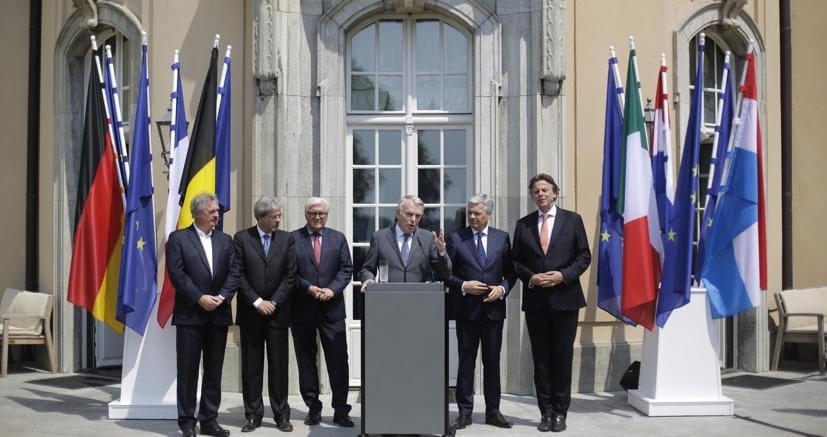 Brexit: riunione dei ministri Esteri 6 fondatori Ue **domani** a Berlino -RPT