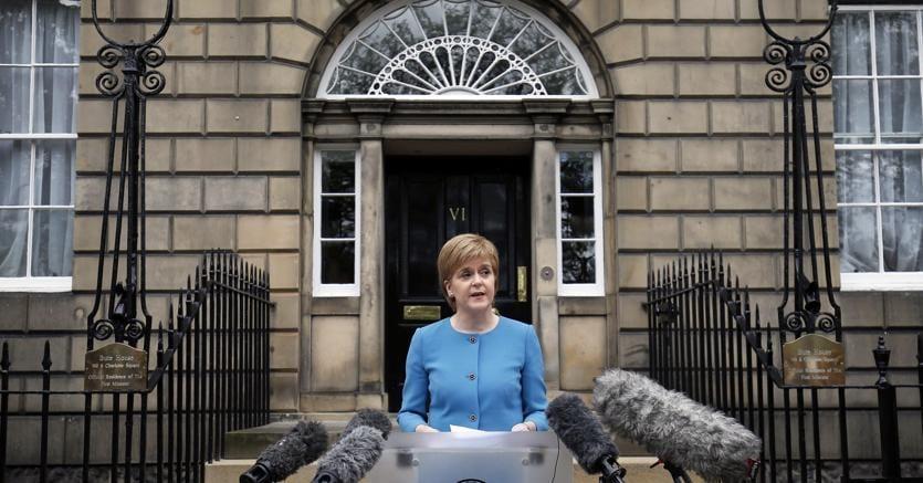 Nicola Sturgeon, premier scozzese