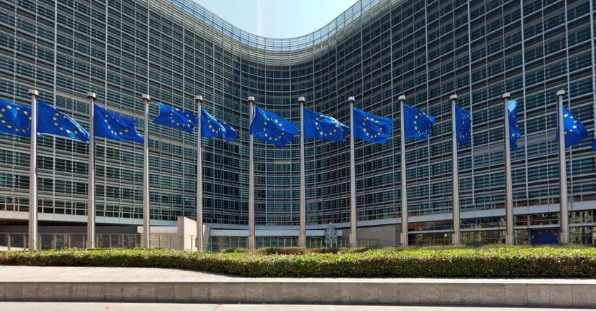 La sede della Commissione europea a Bruxelles (Olycom)