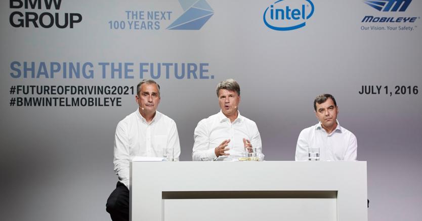 Possibile collaborazione con Intel e Mobileye per la guida autonoma — BMW