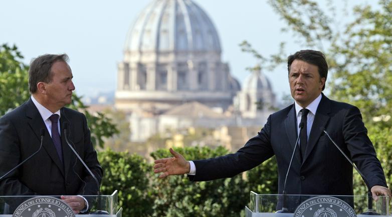 Renzi, vero problema sono i derivati Ue non banche italiane