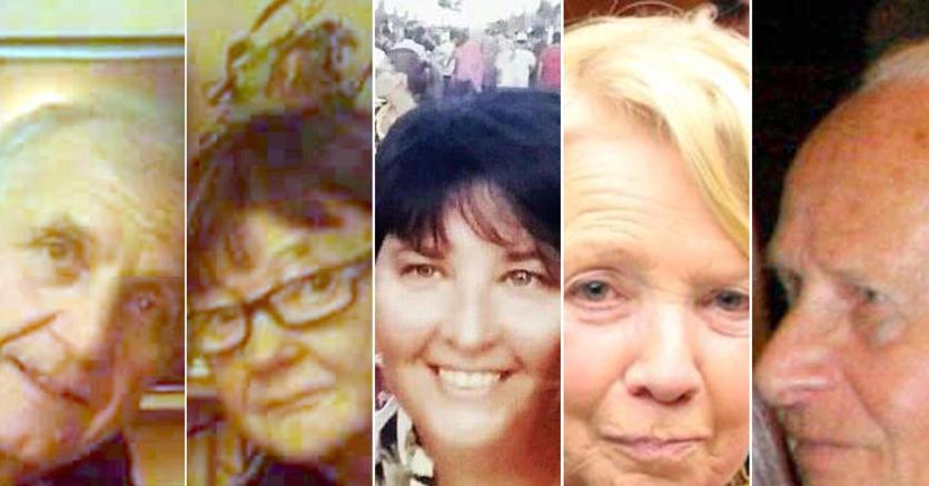 Da sinistra:Angelo D'Agostino , Gianna Muset ,Carla Gaveglio , Maria Grazia Ascoli e Mario Casati