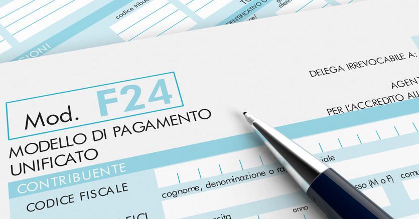 Modello f24 esteso ai diritti speciali catastali il sole for F24 unificato