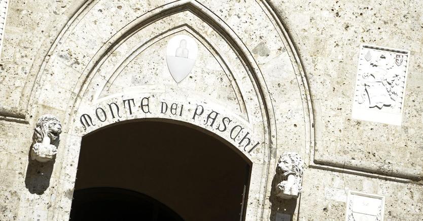 La sede del Monte dei Paschi di Siena. (Epa)
