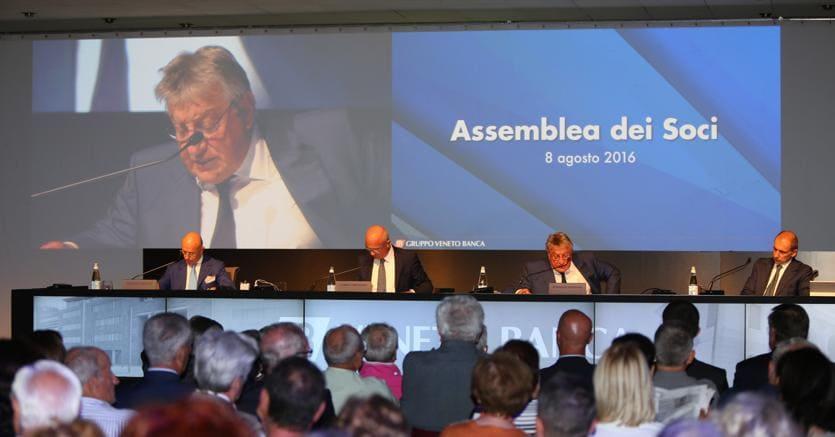 Veneto Banca: Atlante,a piccoli soci azioni a 0,10 euro