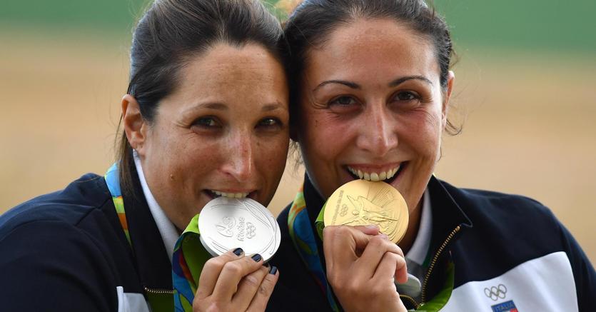 Rio 2016, Diana Bacosi e Chiara Cainero: