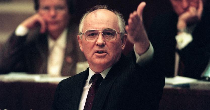 Mikhail Gorbaciov. Foto Afp