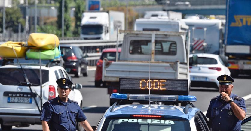 Controesodo, traffico intenso e code sulle autostrade italiane