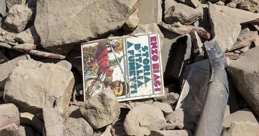 Terremoto in centro Italia: quarto giorno dal sisma ad Amatrice. (Ansa)