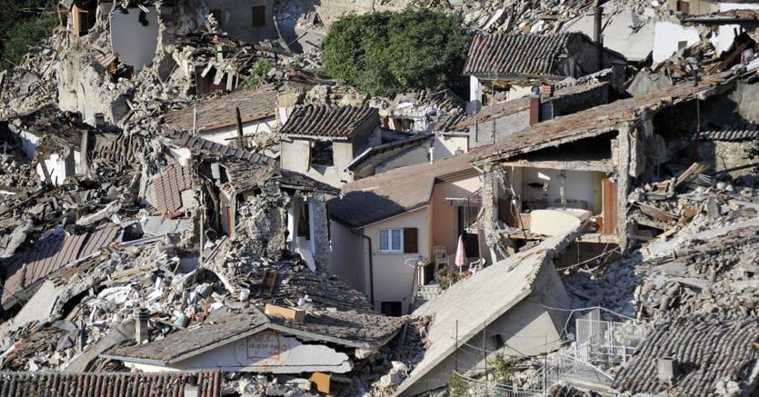 Terremoto due nuove scosse ad ascoli e macerata il sole 24 ore - Casa senza fondamenta terremoto ...
