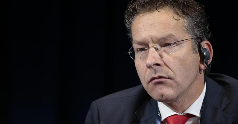 Presidente dell'Eurogruppo. Il ministro delle Finanze olandese Jeroen Dijsselbloem. (Ansa)