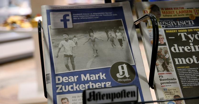 Bufera su Facebook per la foto rimossa