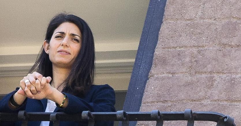 Virginia Raggi, sindaco di Roma (ANSA/ANGELO CARCONI)