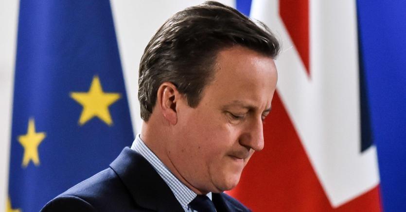 L'ex primo ministro britannico David Cameron (Afp)